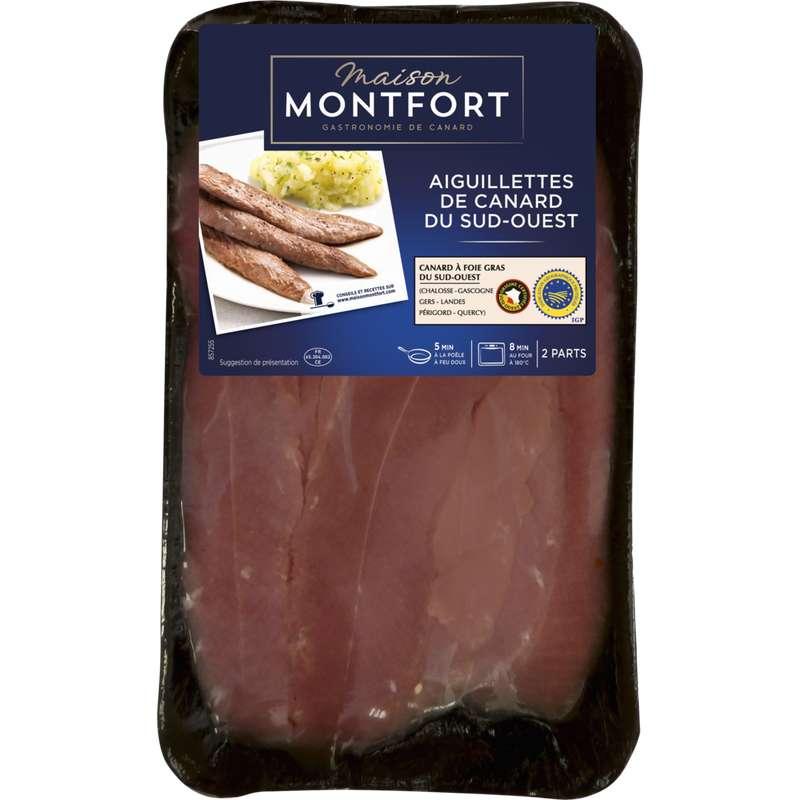 Aiguillettes de canard IGP du Sud-Ouest, Maison Montfort (300 g)
