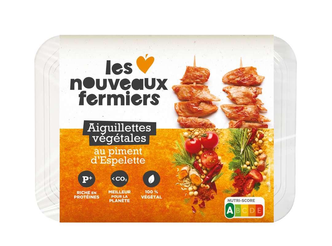 Aiguillettes végétales et gourmandes au piment d'Espelette, Les Nouveaux Fermiers (150 g)