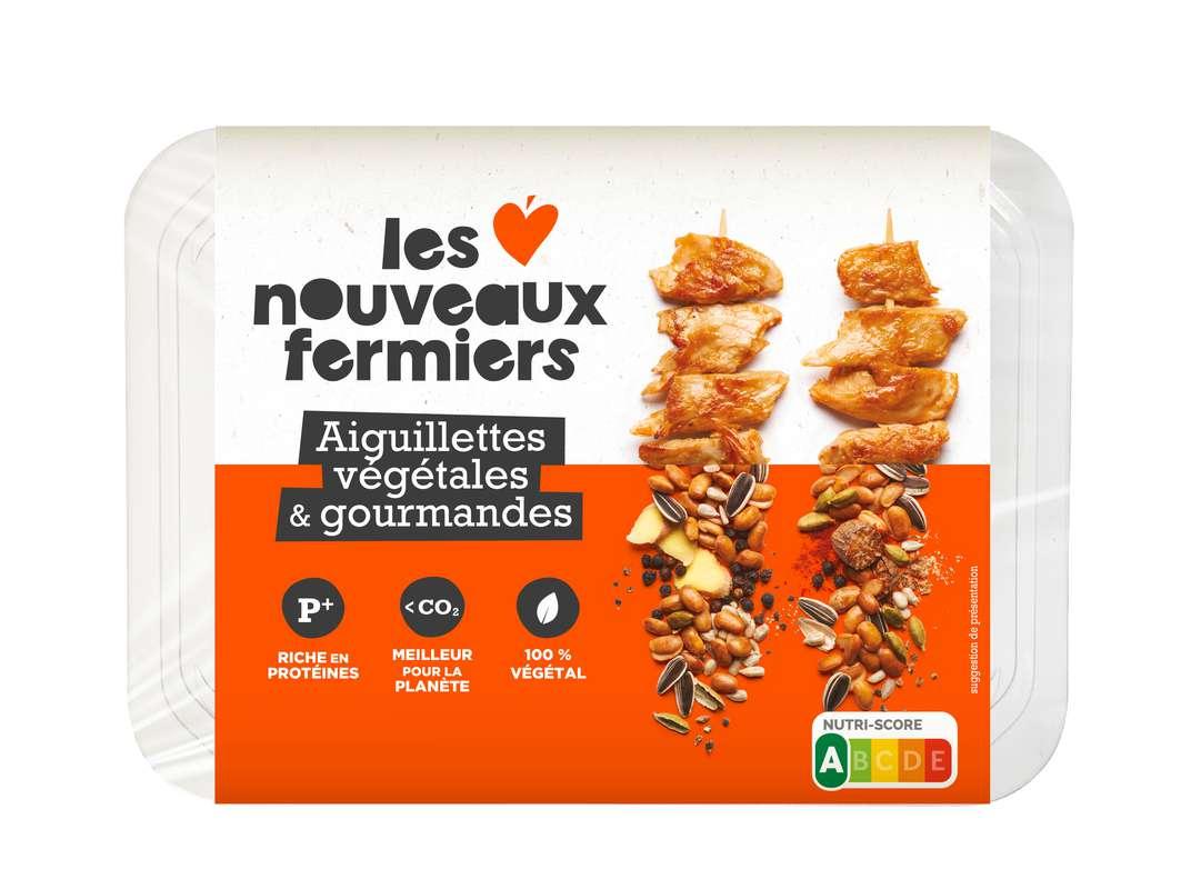 Aiguillettes végétales et gourmandes, Les Nouveaux Fermiers (150 g)