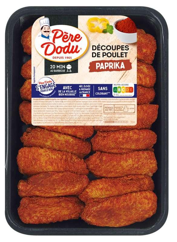 Aileron de poulet au paprika, Père Dodu (500 g)