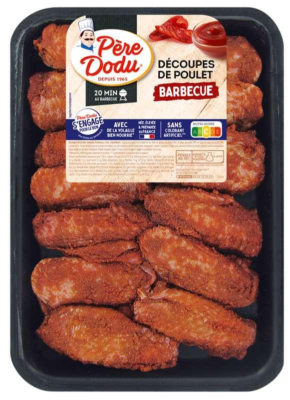 Aileron de poulet saveur barbecue, Père Dodu (500 g)