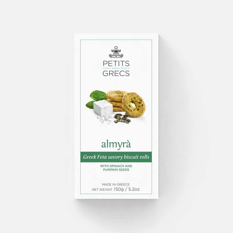 Almyra à la fêta, épinard et graines de courges, Petits Grecs (150 g)