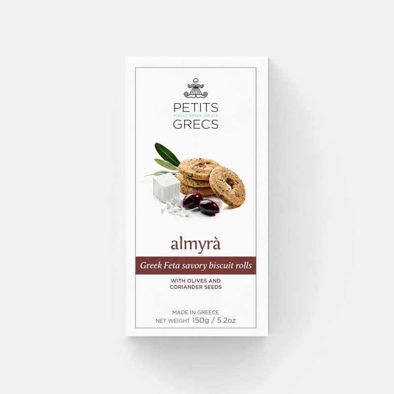 Almyra à la fêta, olive et graines de coriandre, Petits Grecs (150 g)