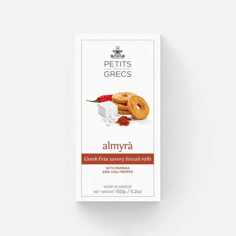 Almyra à la fêta, paprika et piment, Petits Grecs (150 g)