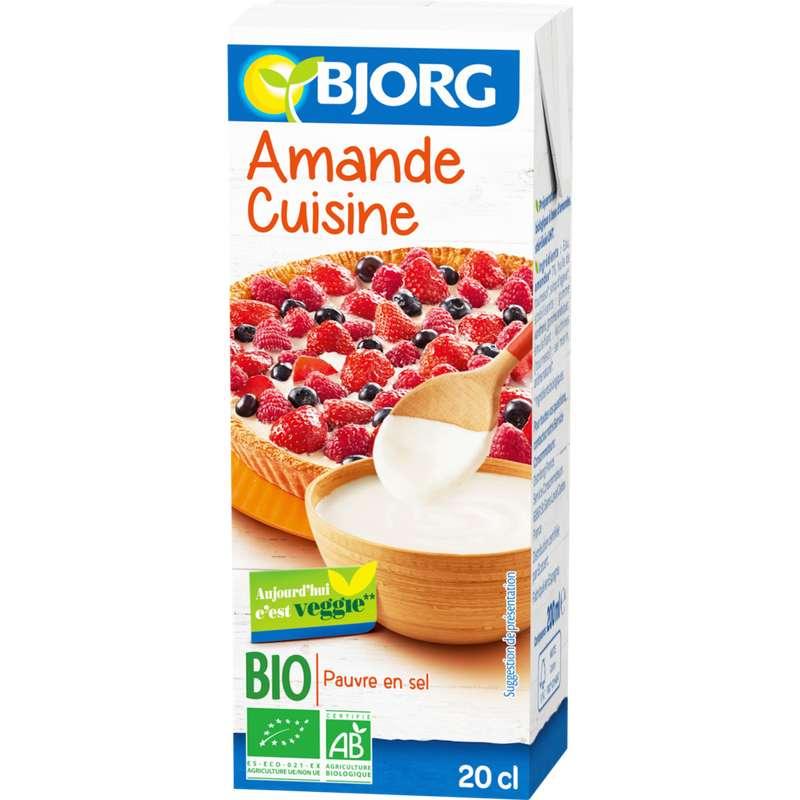 Amande Cuisine BIO, Bjorg (200 ml)