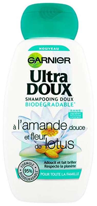 Shampooing Amande et Fleur Lotus, Ultra Doux (250 ml)