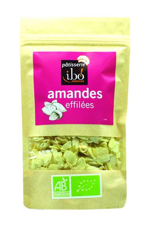 Amandes effilées BIO, Ibo (100 g)