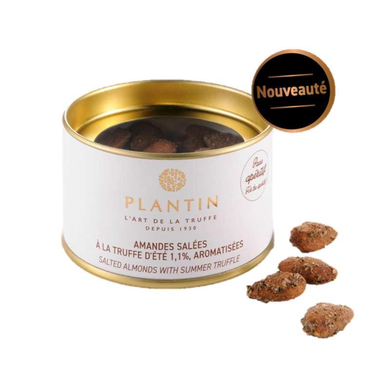 Amandes salées à la truffe d'été 1.1% aromatisée, Plantin (100 g)