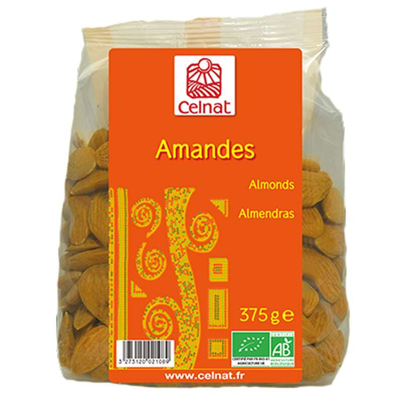 Amandes BIO, Celnat (375 g)