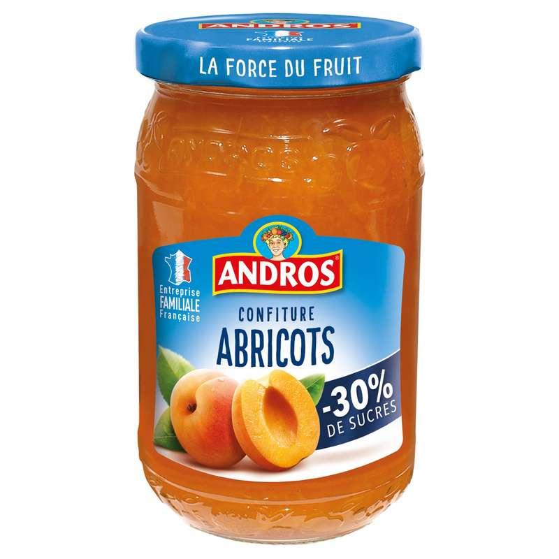 Confiture allégée abricots, Andros (350 g)