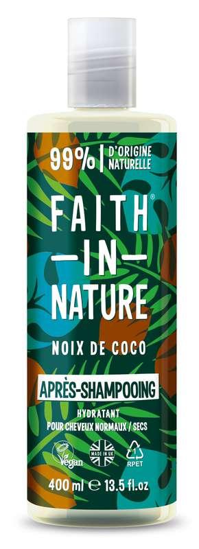 Après-shampoing à la noix de coco, Faith In Nature (400 ml)