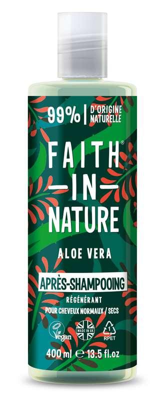 Après-Shampoing Aloe Vera, Faith In Nature (400 ml)