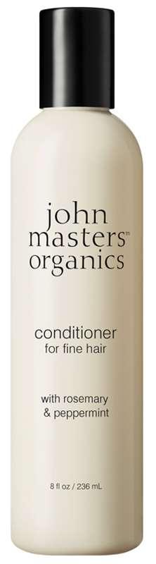 Après-Shampoing cheveux fins au romarin et à la menthe poivrée, John Masters Organics (236 ml)