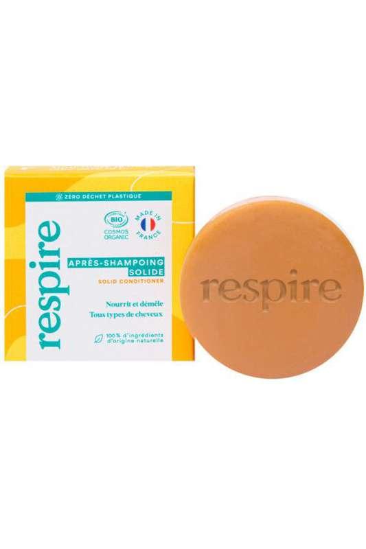 Après-shampoing solide BIO, Respire (50 g)