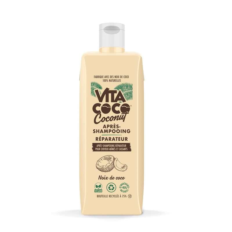 Après-Shampooing Réparateur pour cheveux abîmés et cassants, Vita Coco (400 ml)