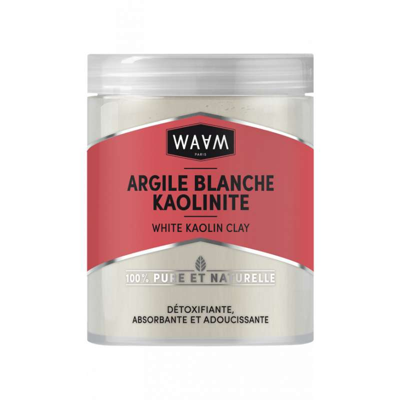 Argile blanche kaolinite, Waam (150g)