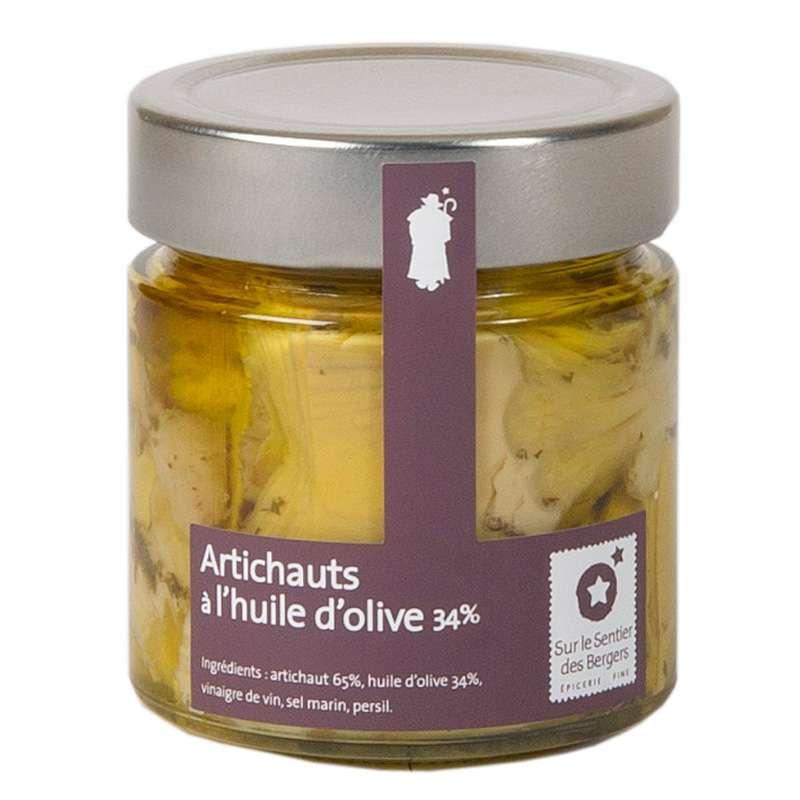 Artichauts à l'huile d'olive, Sur le sentier des bergers (200 g)