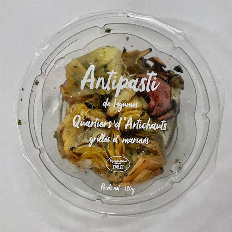 Artichauts grillés et marinés, Antipasti Bluver (120 g)