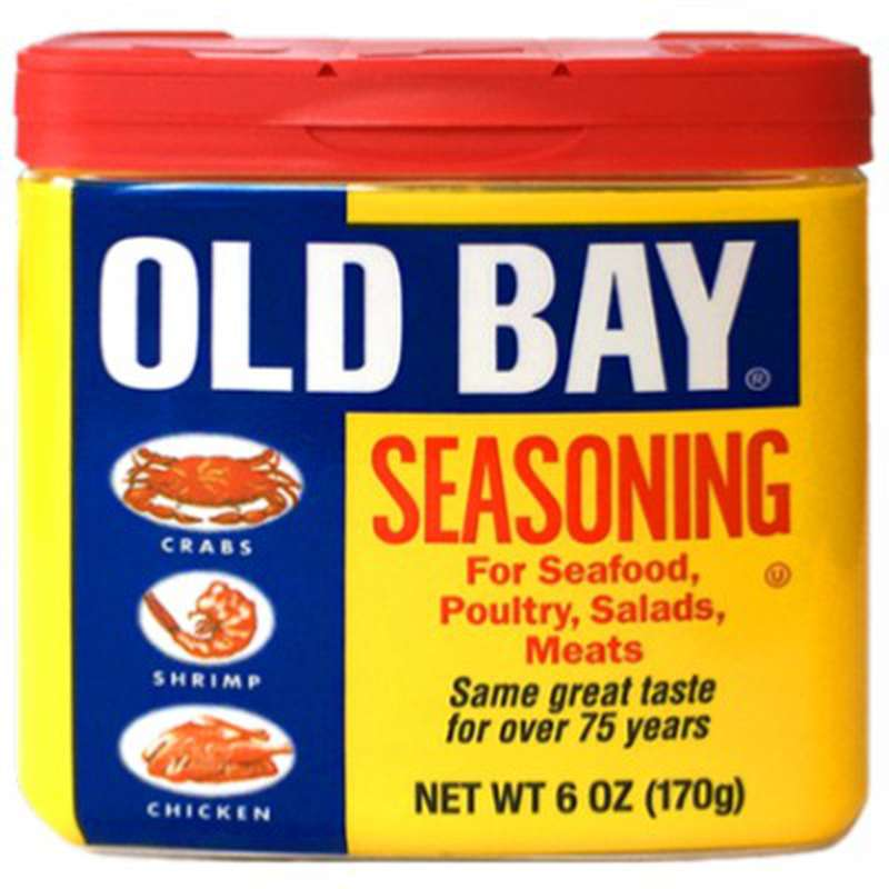 Assaisonnement pour poissons, crustacés et poulets, Old Bay (170 g)