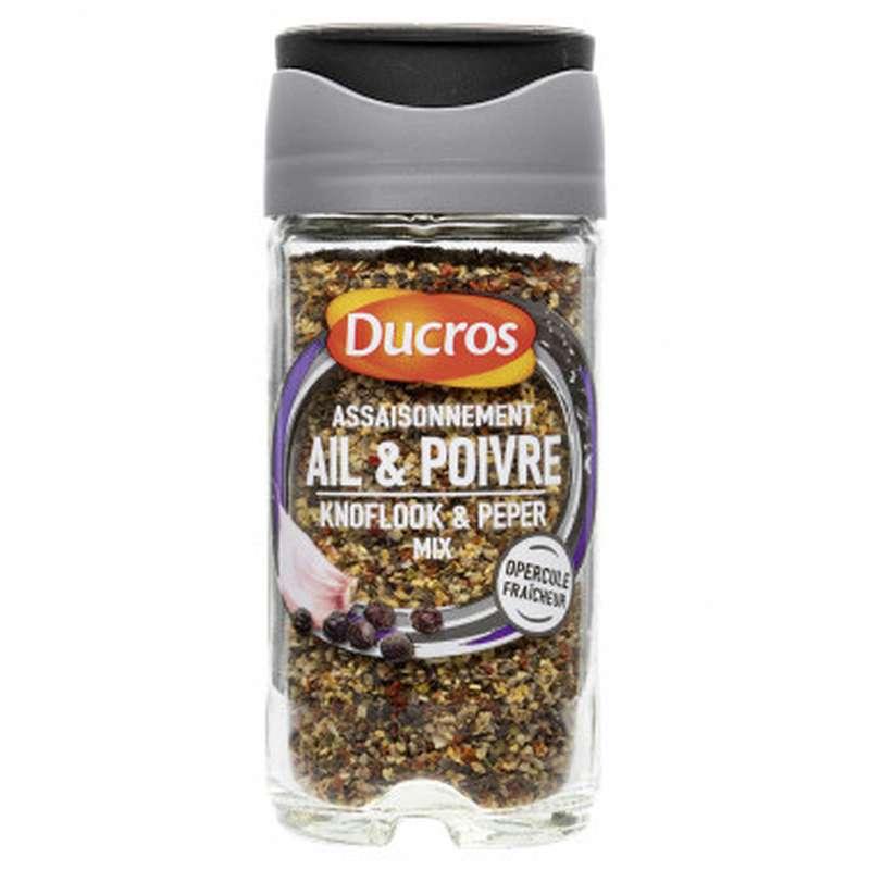 Assaisonnement Ail & Poivre, Ducros (45 g)