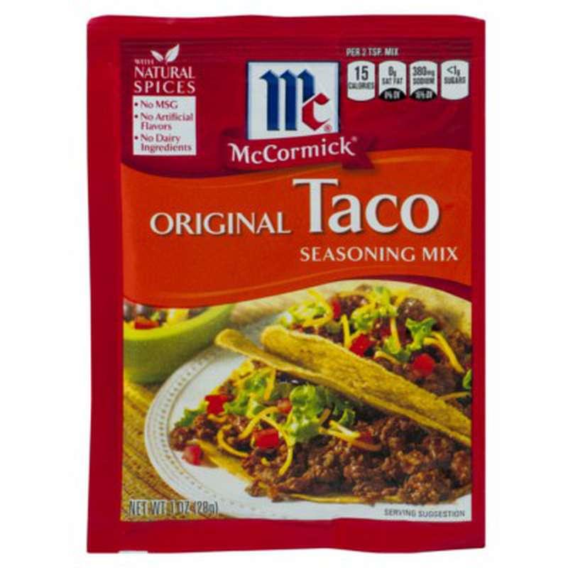 Assaisonnement pour tacos, McCormick's (28 g)