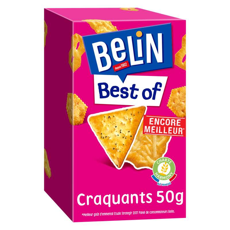 Assortiment Best Of craquants, Belin (50 g)