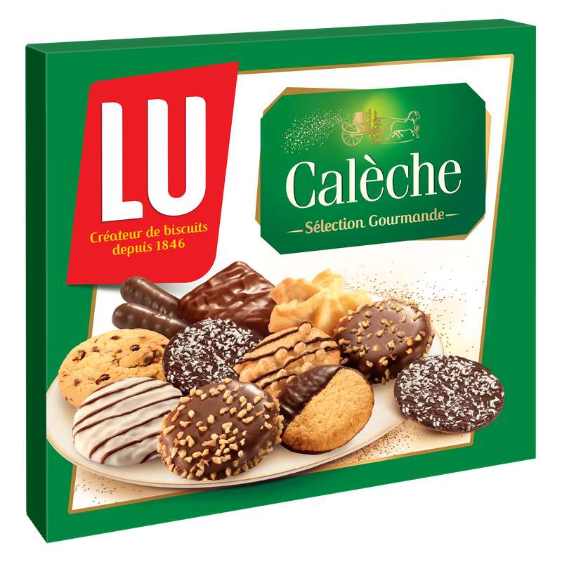 Assortiment biscuits Calèche sélection gourmande, Lu (250 g)