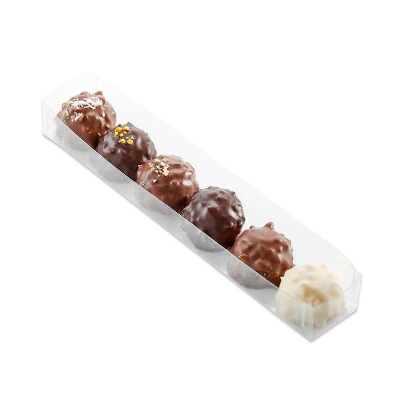Assortiment de 6 rochers, Schaal Chocolatier (x 6, 60 g)