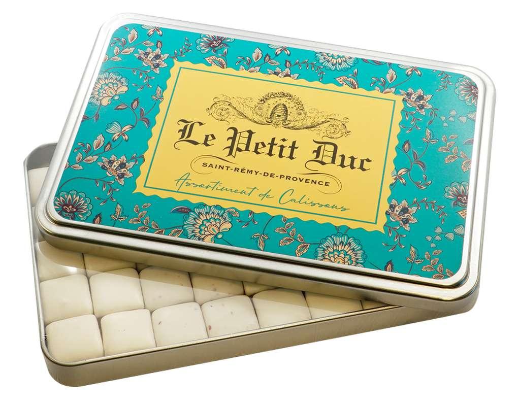 Assortiment de Calissons de Saint-Rémy - boîte métal, Le Petit Duc (230 g)