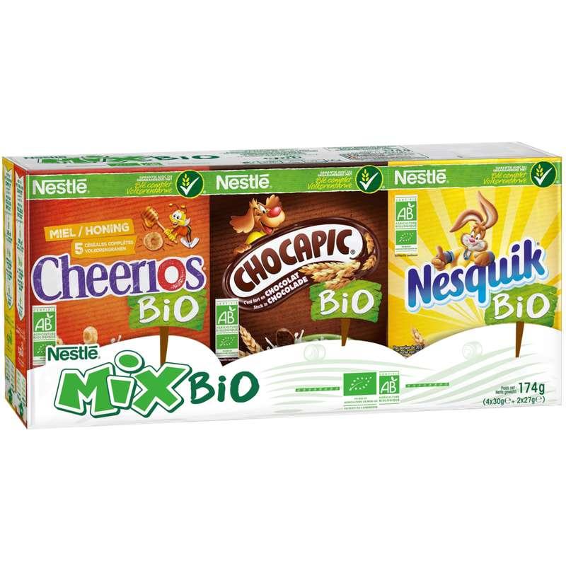 Assortiment de céréales Mix BIO, Nestlé (12 x 174 g)
