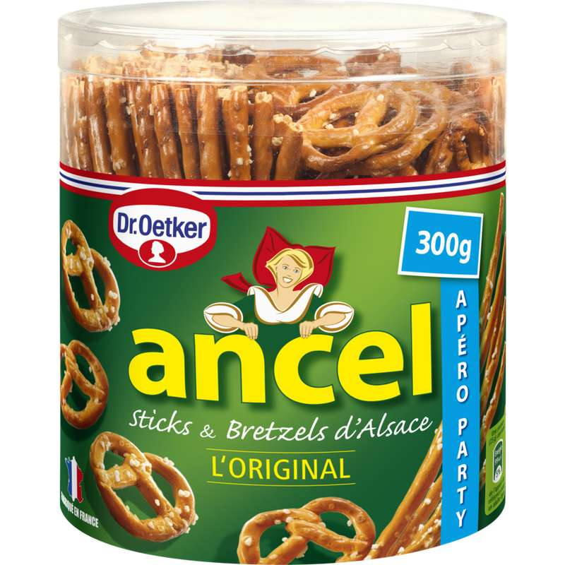 Assortiment stick & bretzel original, Dr Oetker (300 g)