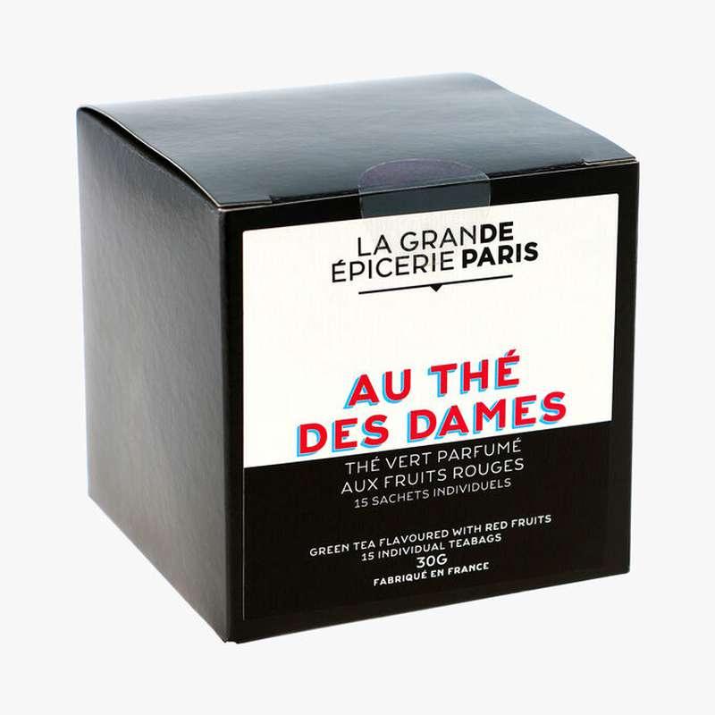 Thé vert Au Thé des Dames aromatisé aux fruits rouges, La Grande Epicerie de Paris (x 15)