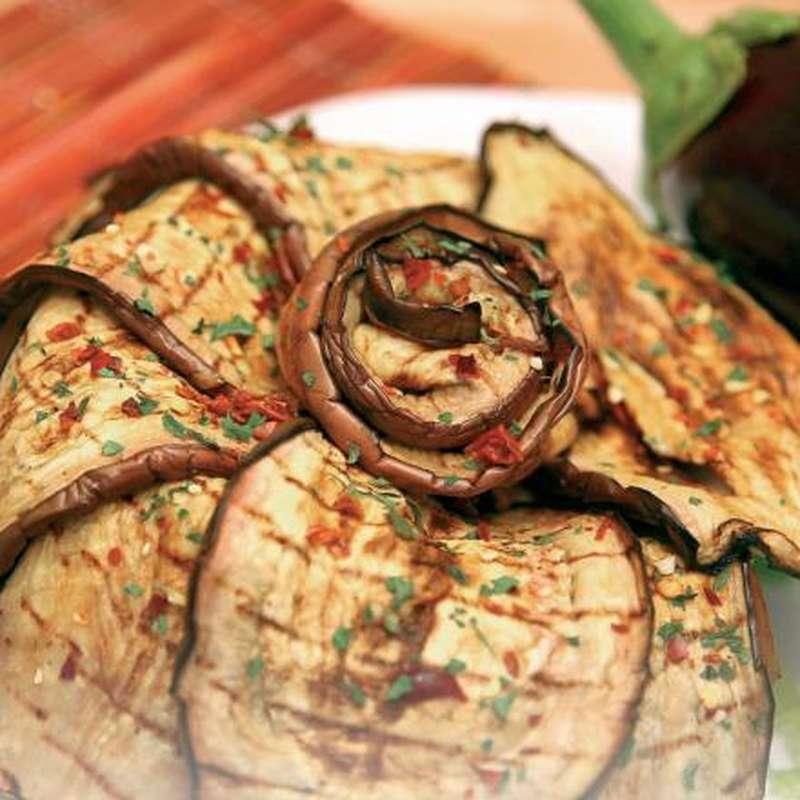 Aubergines grillées à l'huile (120 g)