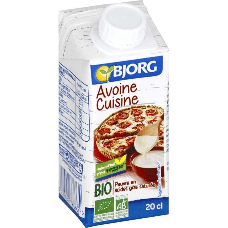 Avoine cuisine BIO, Bjorg (200 ml)