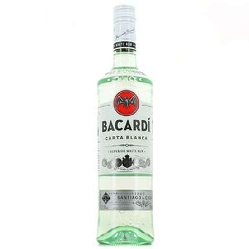Rhum Bacardi blanc (70 cl)
