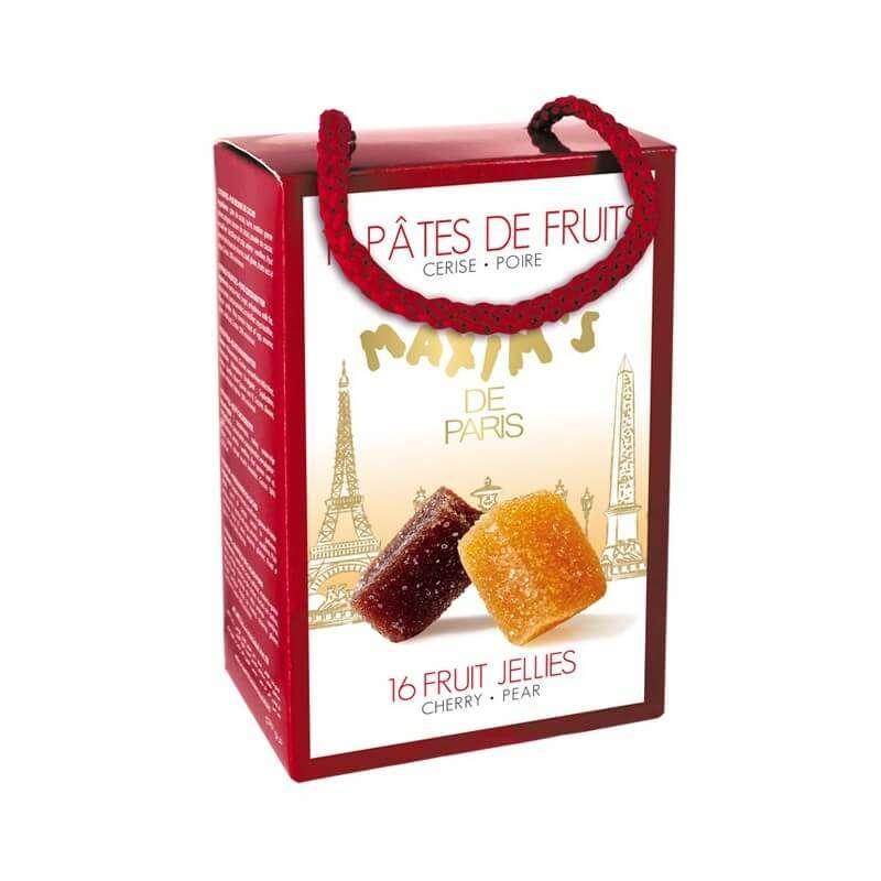 Ballotin 16 pâtes de fruit, Maxim's (112 g)