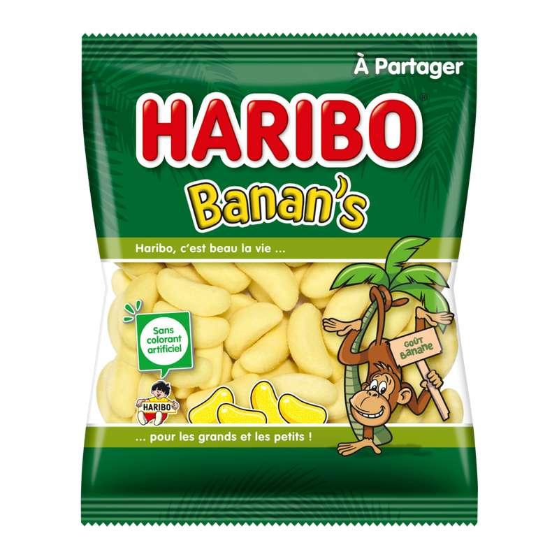 Bonbons bananes, Haribo (300 g)