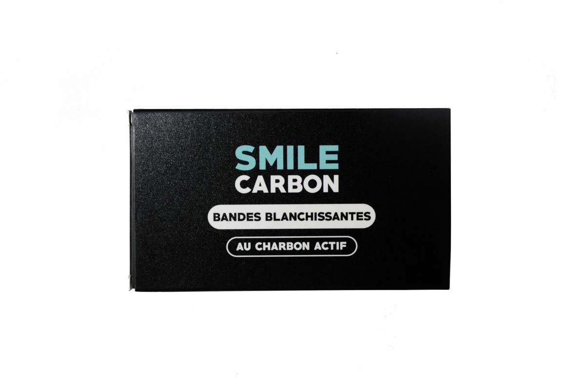 Bandes blanchissantes au charbon actif, Smile Carbon (x 14)