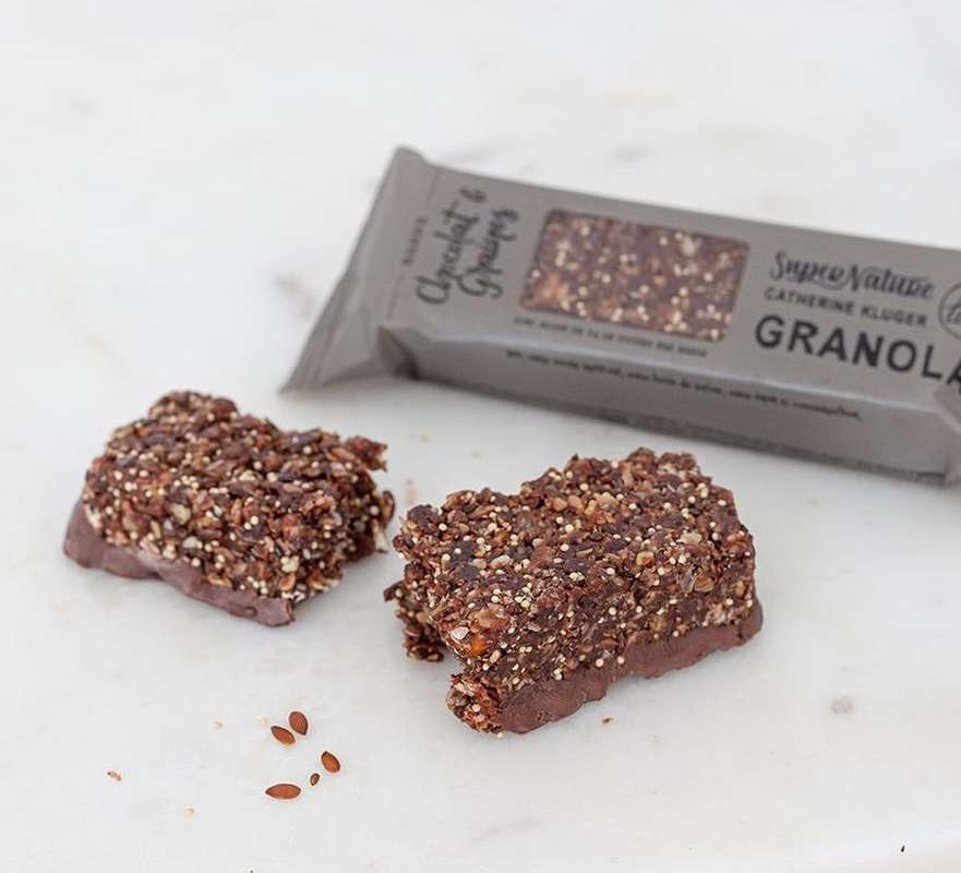 Barre Granola au chocolat BIO, SuperNature (x 3)