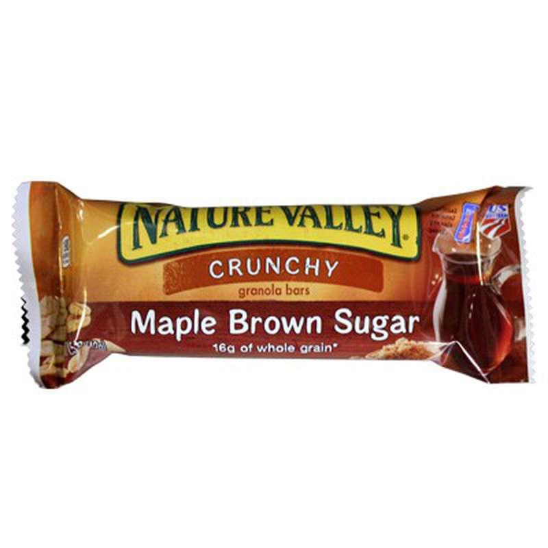 Barre granola sirop d'érable et cassonade, Nature Valley (42 g)