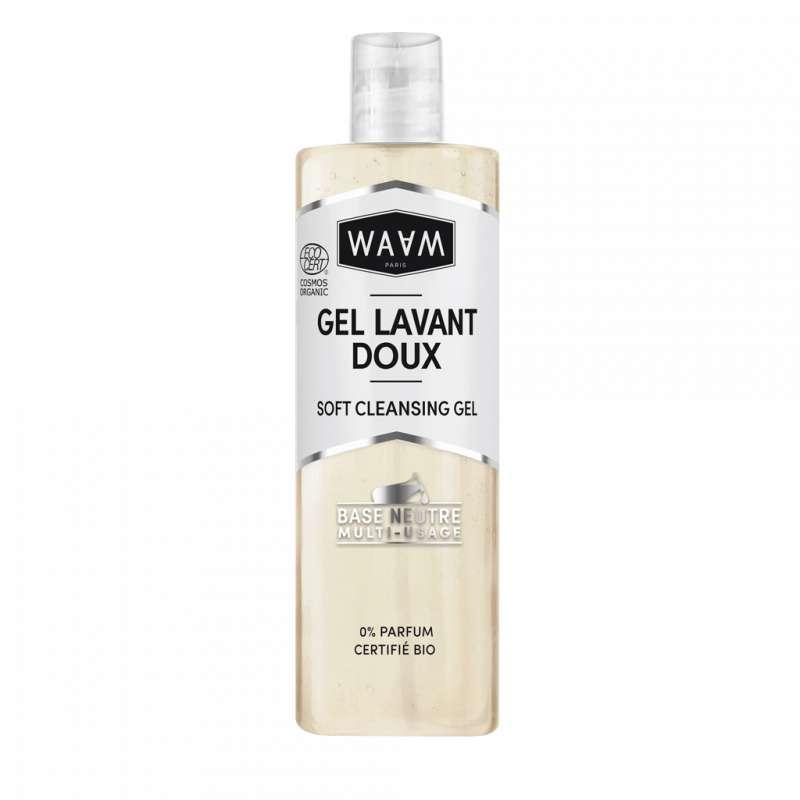 Base gel lavant doux, Waam (400 ml)