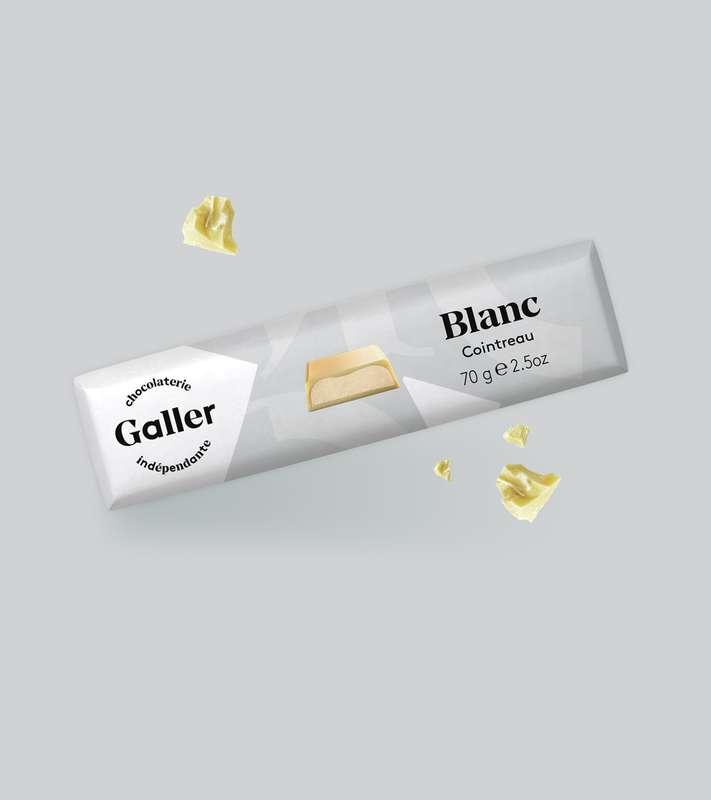 Bâton blanc Cointreau, Chocolat Galler (70 g)