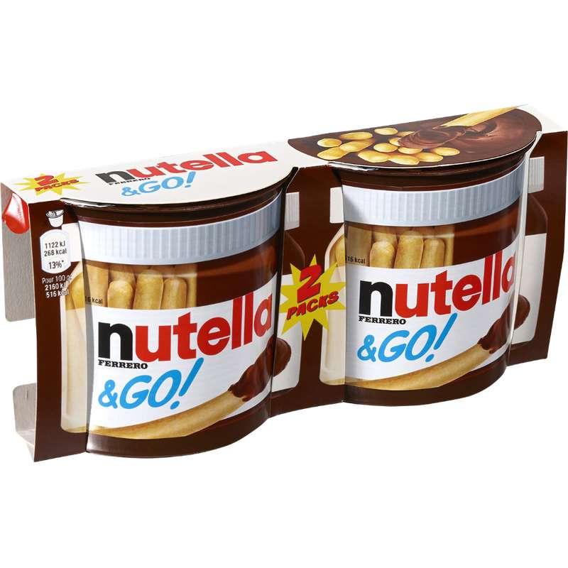Nutella & Go (2 x 52 g)