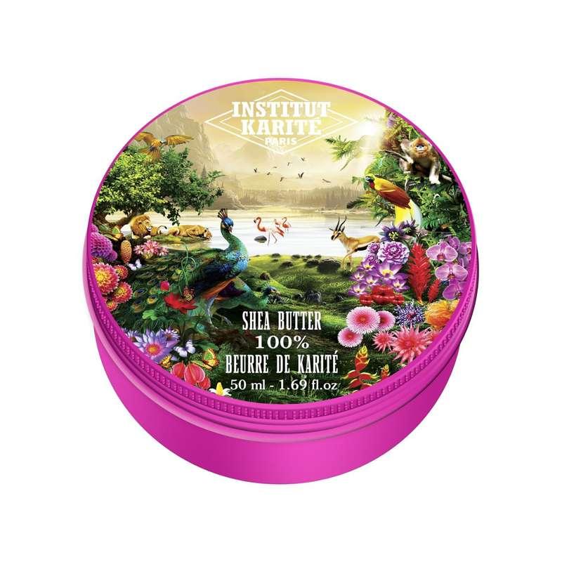 Baume 100% Pur Beurre de Karité Jungle Paradise - sans parfum, Institut Karité (50 ml)