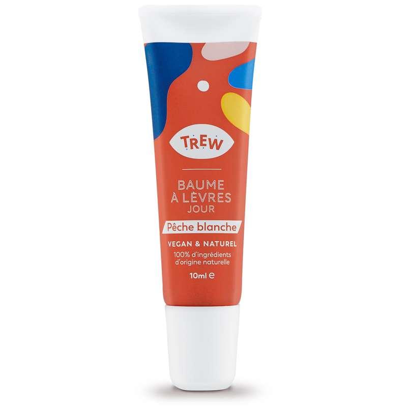 Baume à lèvres Jour arôme Pêche blanche Vegan, Trew (10 ml)