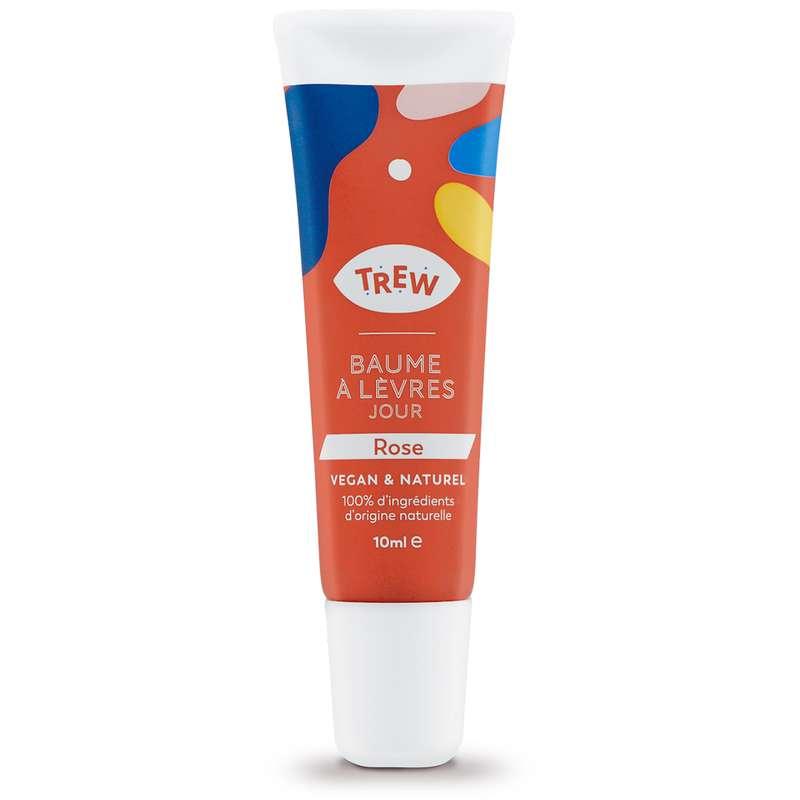 Baume à lèvres Jour arôme Rose Vegan, Trew (10 ml)