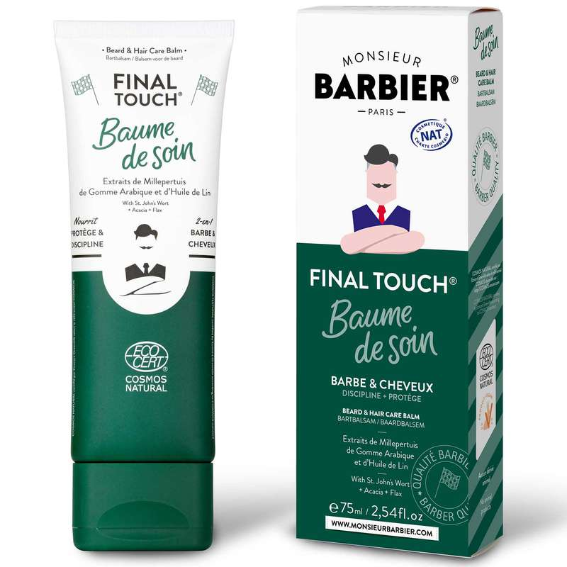 Baume de soin Barbe & Cheveux, Monsieur Barbier (75 ml)