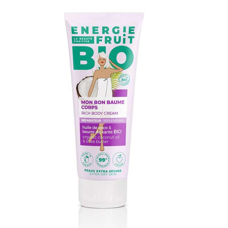 Baume Corps BIO Coco, Energie Fruit (200 ml)