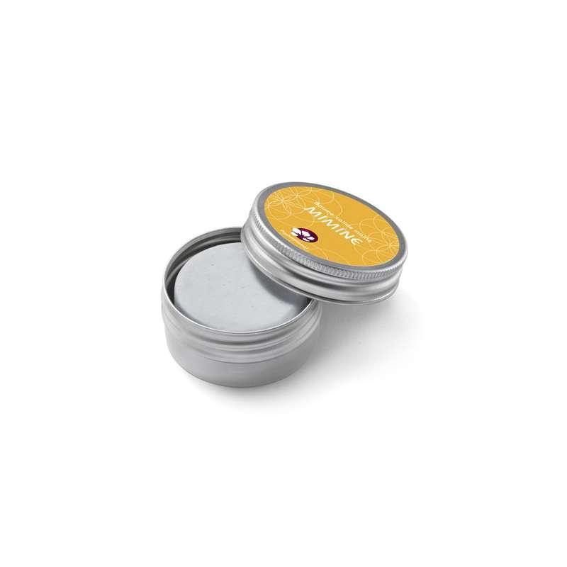 Baume solide pour les mains Mimine boîte métal, Pachamamaï (20 g)