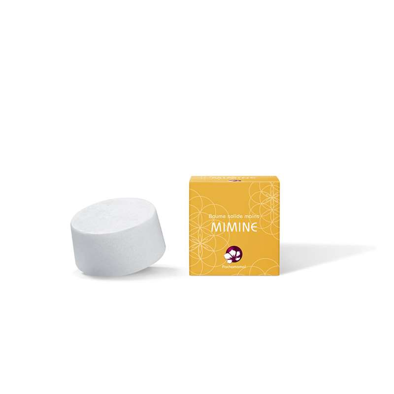 Recharge de baume solide pour les mains Mimine, Pachamamaï (20 g)